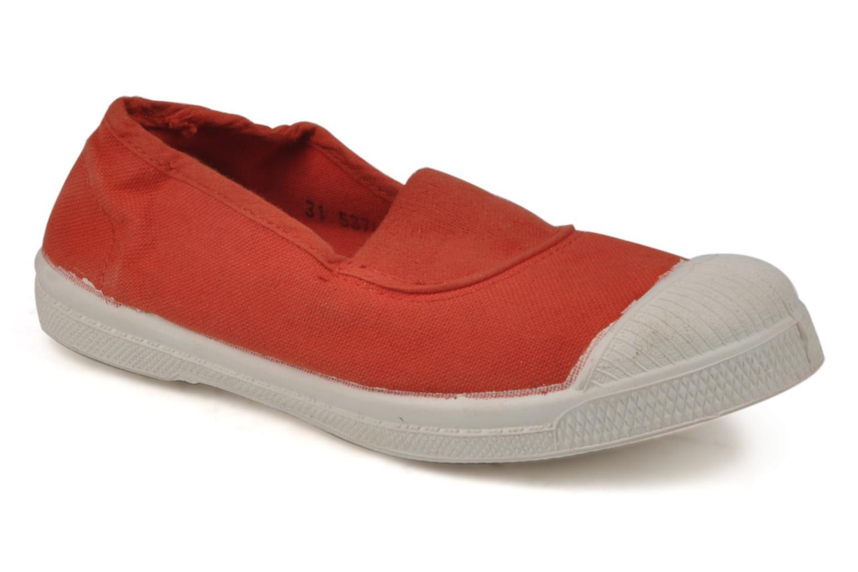 Sneaker Bensimon Tennis Elastique E rot detaillierte ansicht/modell