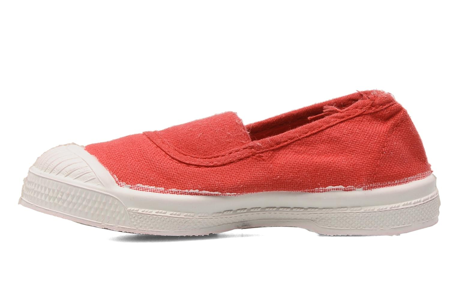 Baskets Bensimon Tennis Elastique E Orange vue face