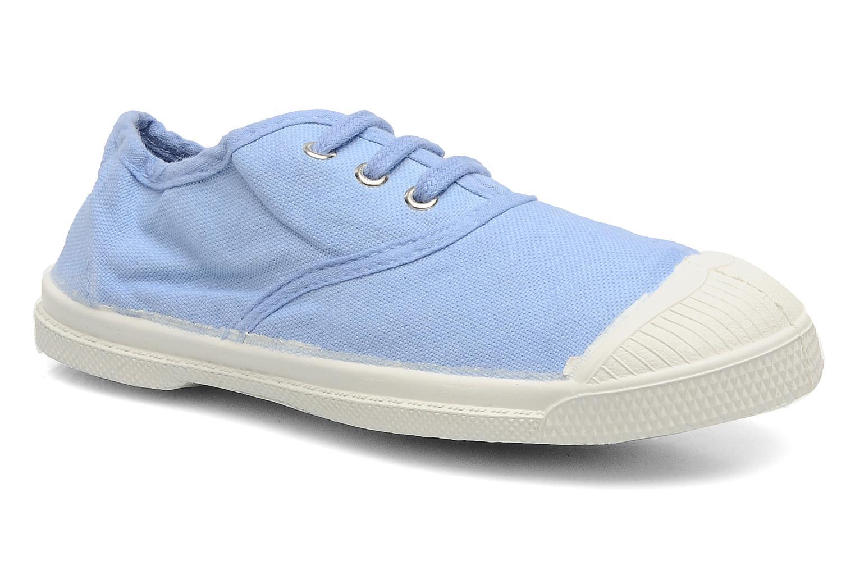 Baskets Bensimon Tennis Lacets E Bleu vue détail/paire