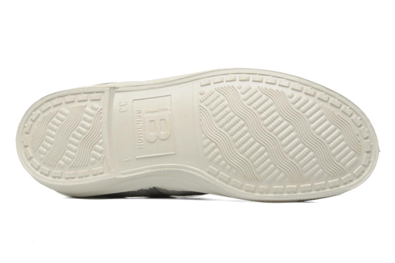 Sneaker Bensimon Tennis Lacets E grau ansicht von oben