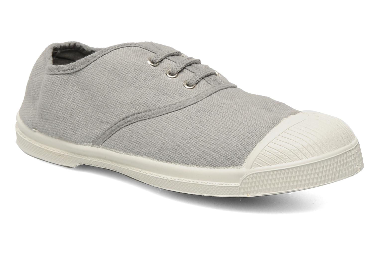 Sneakers Bensimon Tennis Lacets E Grå detaljeret billede af skoene