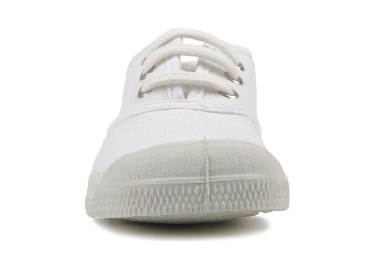 Baskets Bensimon Tennis Lacets E Blanc vue portées chaussures