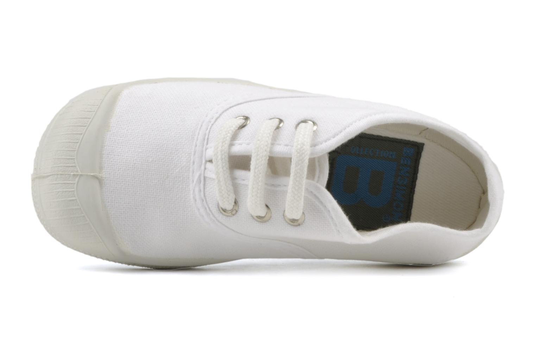 Baskets Bensimon Tennis Lacets E Blanc vue gauche