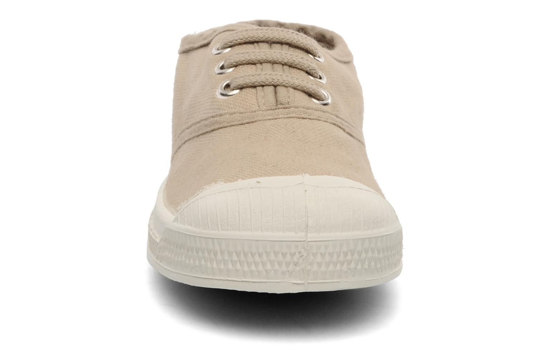 Sneakers Bensimon Tennis Lacets E Beige bild av skorna på