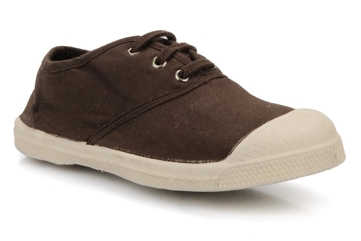 Sneakers Bensimon Tennis Lacets E Bruin detail