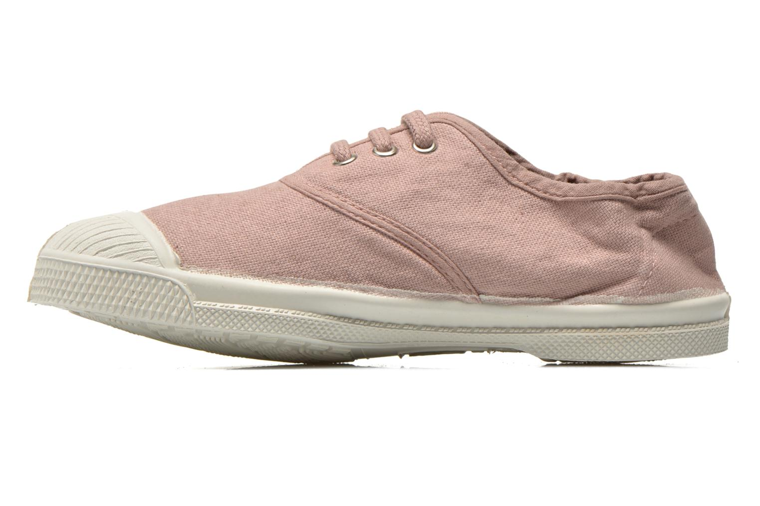 Tennis Lacets E Rose Grise