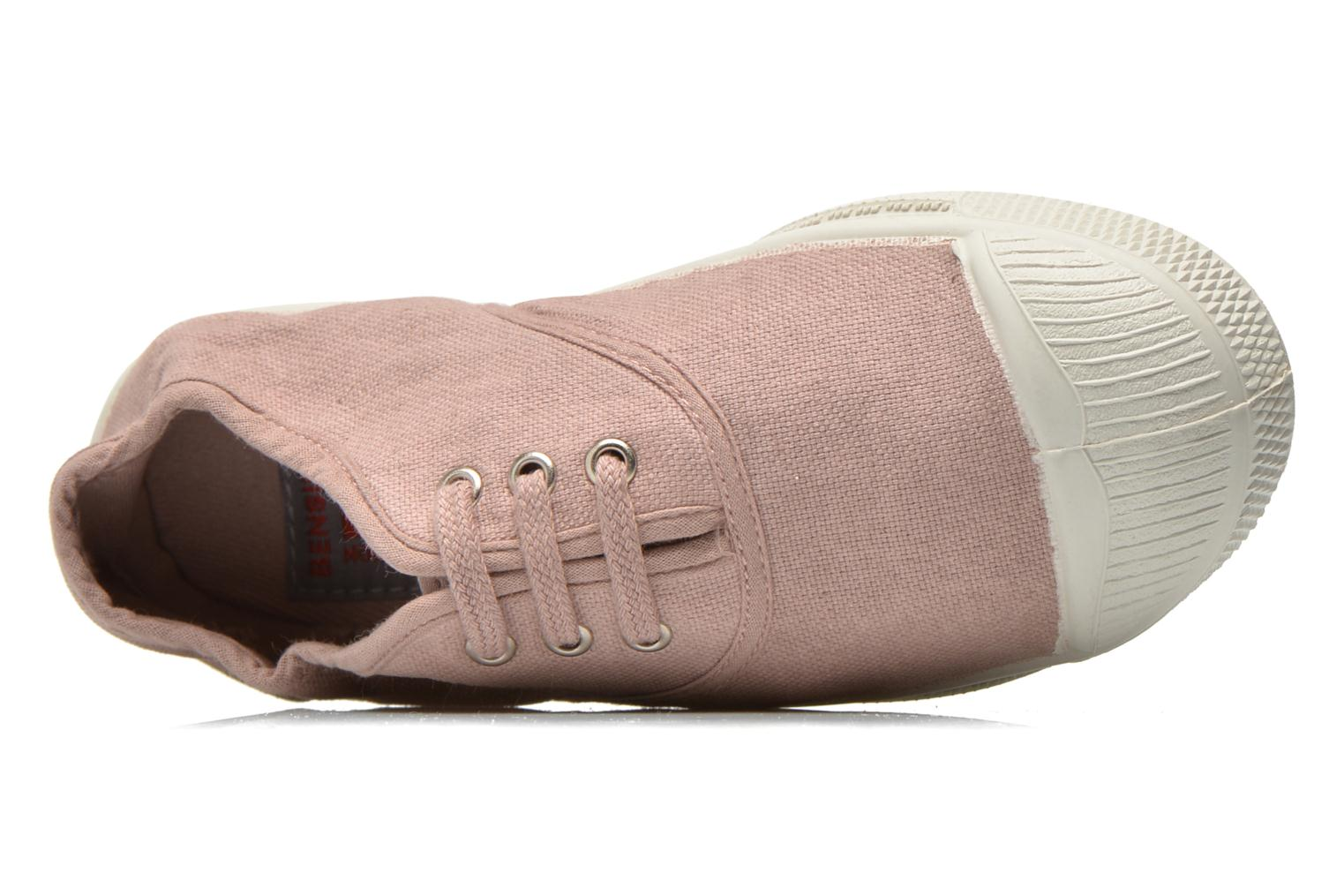 Trainers Bensimon Tennis Lacets E Grey view from the left