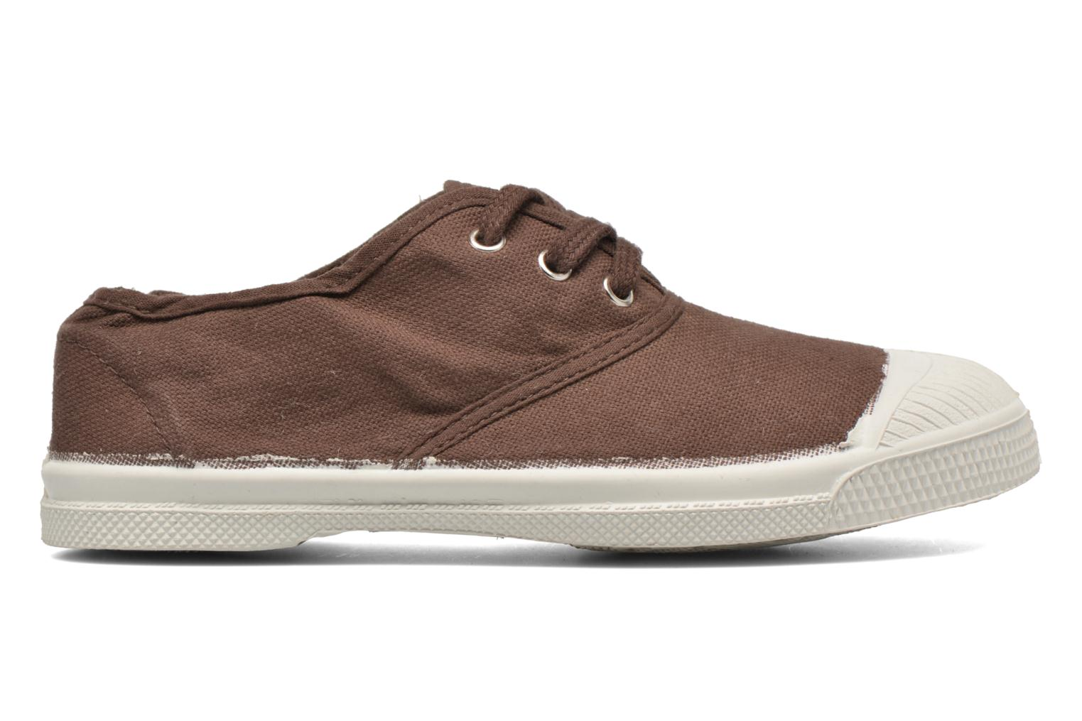 Baskets Bensimon Tennis Lacets E Marron vue derrière