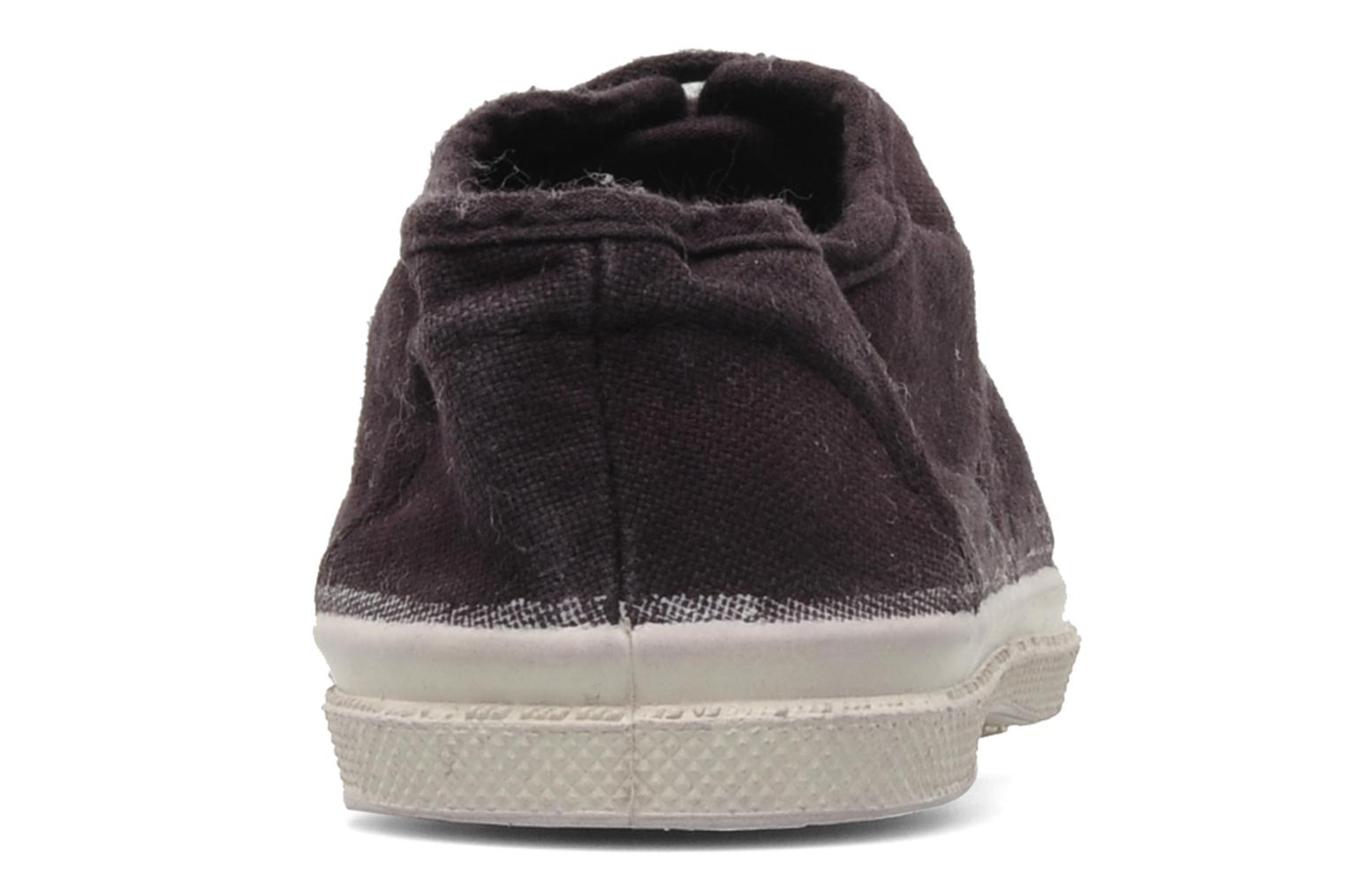 Trainers Bensimon Tennis Lacets E Purple view from the right