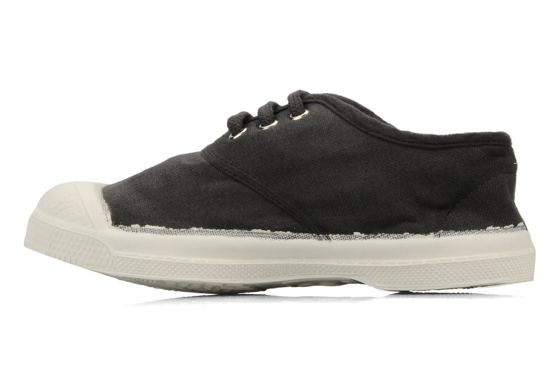 Sneakers Bensimon Tennis Lacets E Svart bild från framsidan