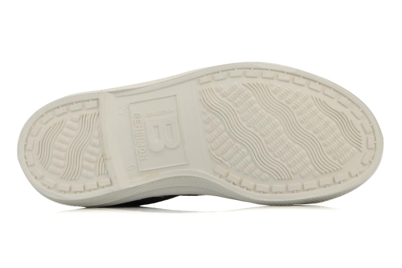 Sneakers Bensimon Tennis Lacets E Svart bild från ovan