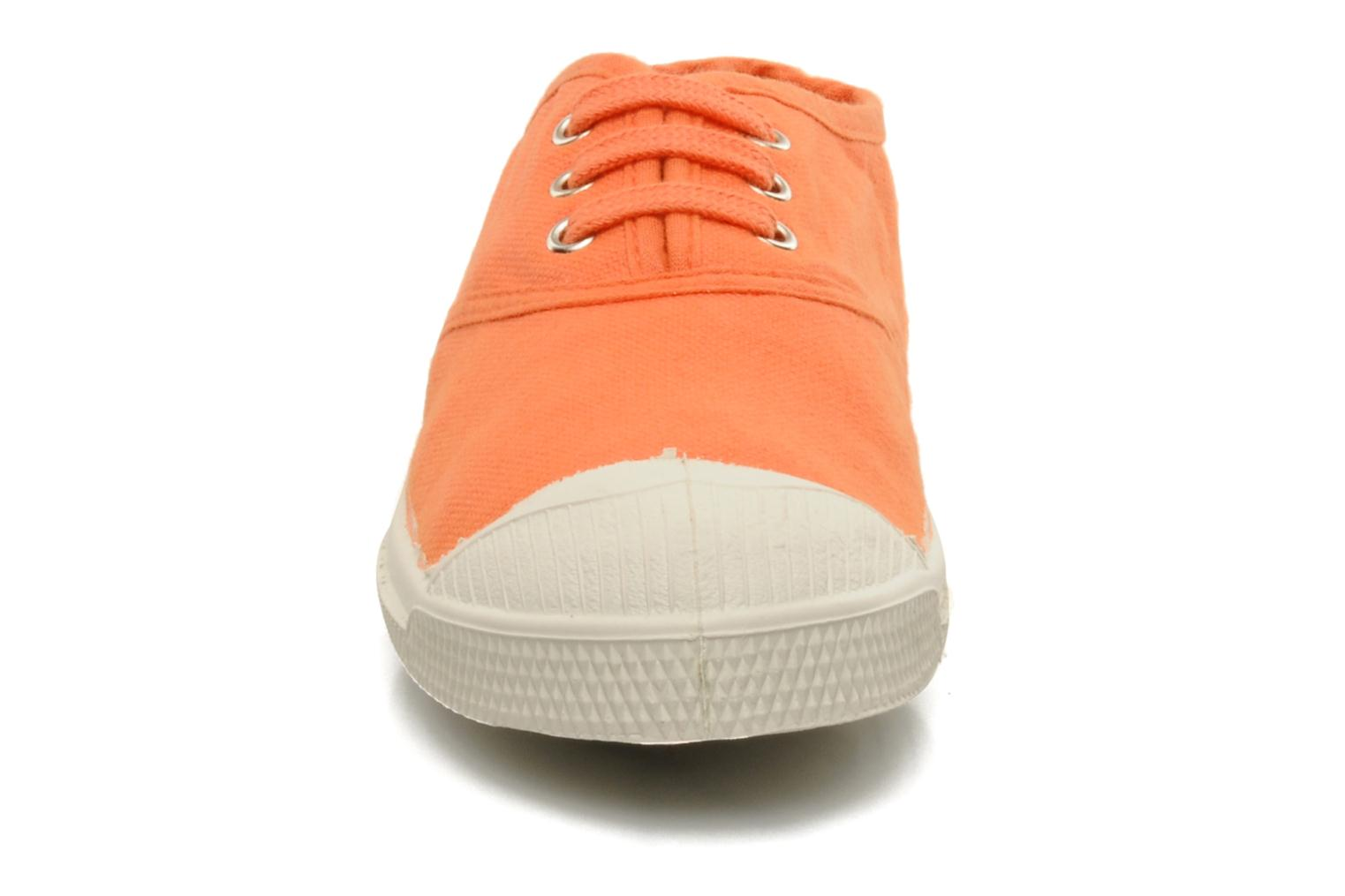 Sneakers Bensimon Tennis Lacets E Orange bild av skorna på