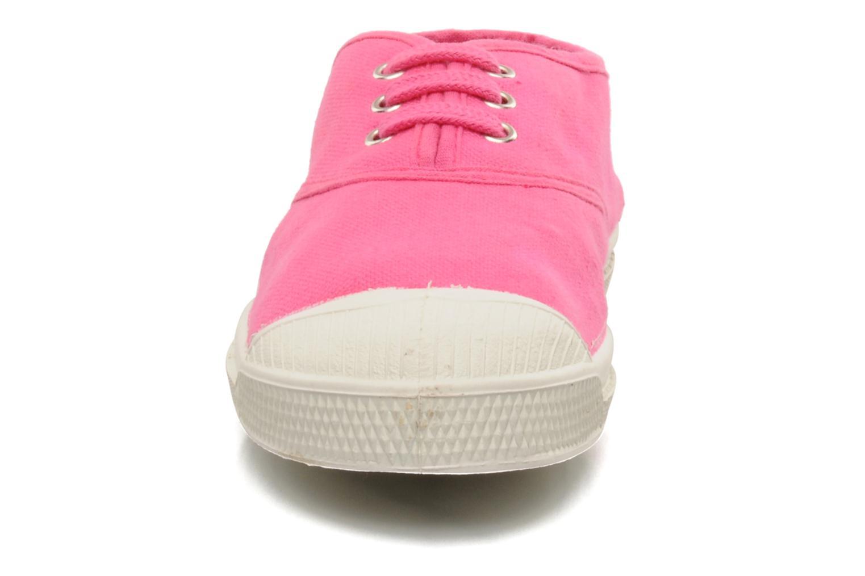 Sneaker Bensimon Tennis Lacets E rosa schuhe getragen