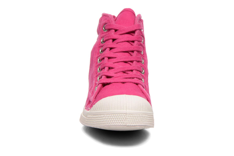 Sneaker Bensimon Tennis Mid E rosa schuhe getragen