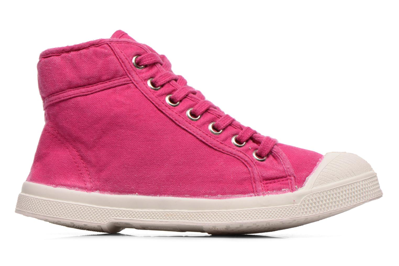 Sneaker Bensimon Tennis Mid E rosa ansicht von hinten