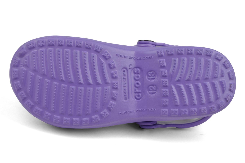 Sandalen Crocs Girls Mary Jane Paars boven