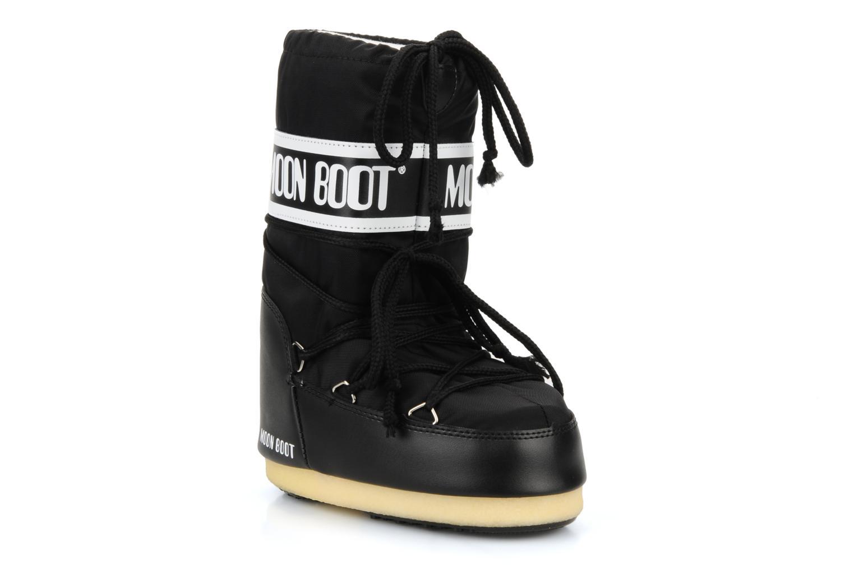 Sportskor Moon Boot Moon Boot Nylon E Svart detaljerad bild på paret