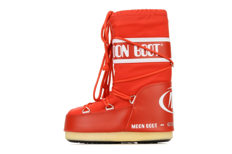 Sportschuhe Moon Boot Moon Boot Nylon E rot ansicht von vorne