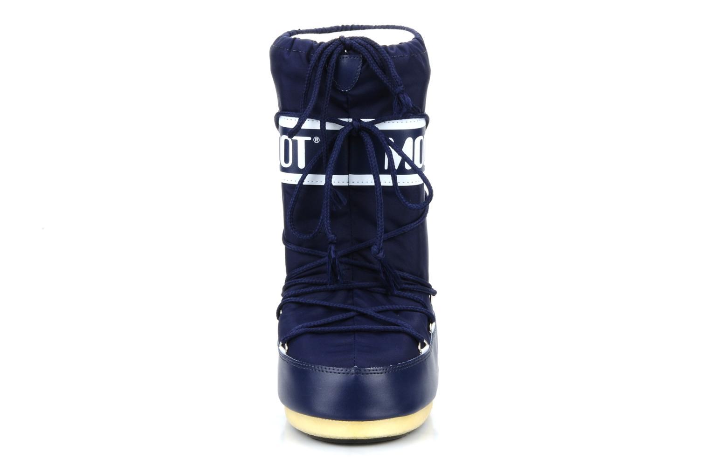 Sportschuhe Moon Boot Moon Boot Nylon E blau schuhe getragen