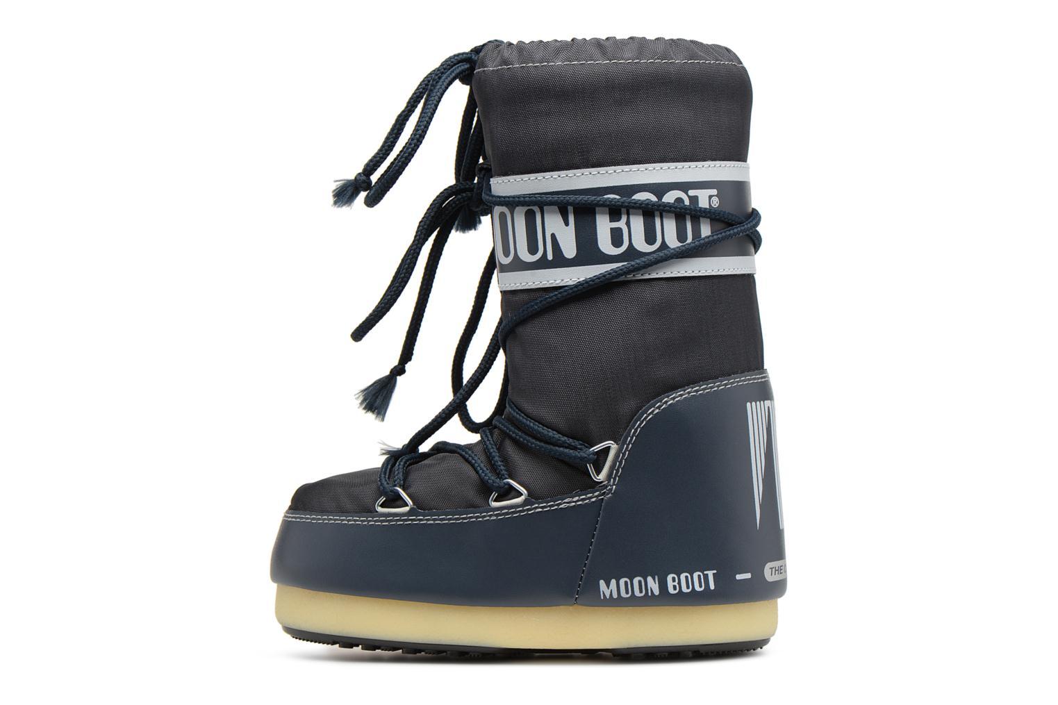 Chaussures de sport Moon Boot Moon Boot Nylon Bleu vue face