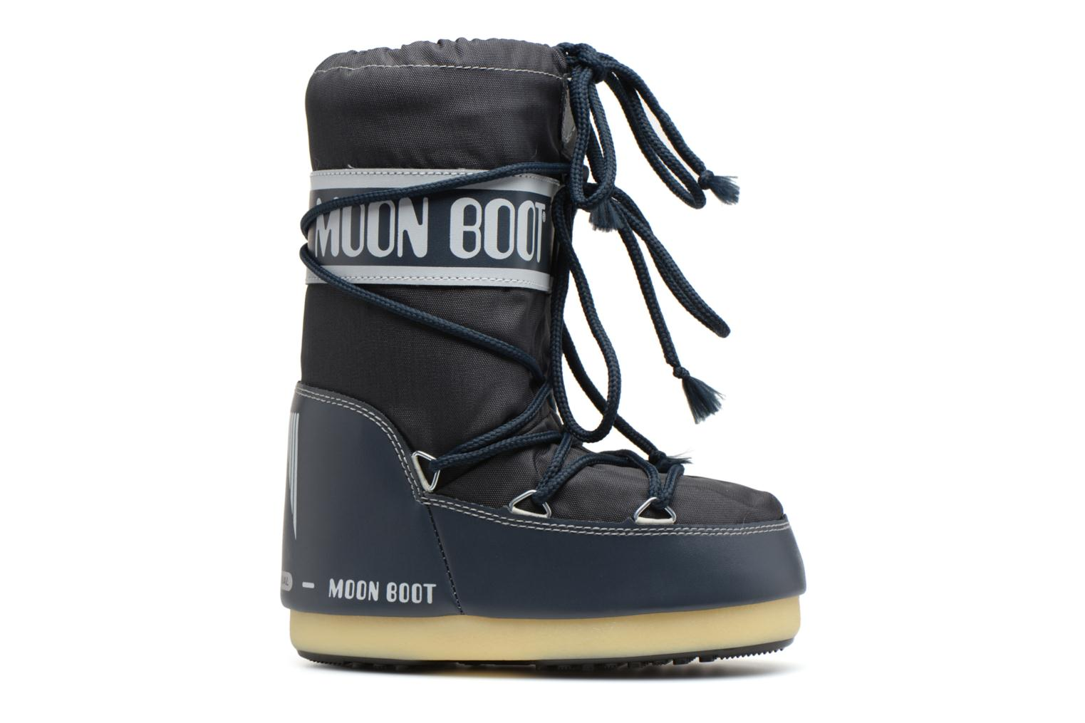 Sport shoes Moon Boot Moon Boot Nylon E Blue back view