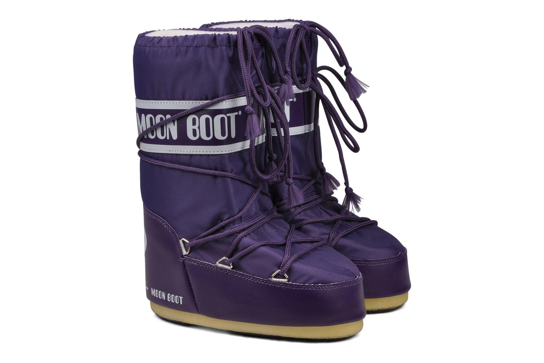Chaussures de sport Moon Boot Moon Boot Nylon Violet vue 3/4