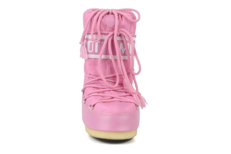 Sportschuhe Moon Boot Moon Boot Nylon E rosa schuhe getragen