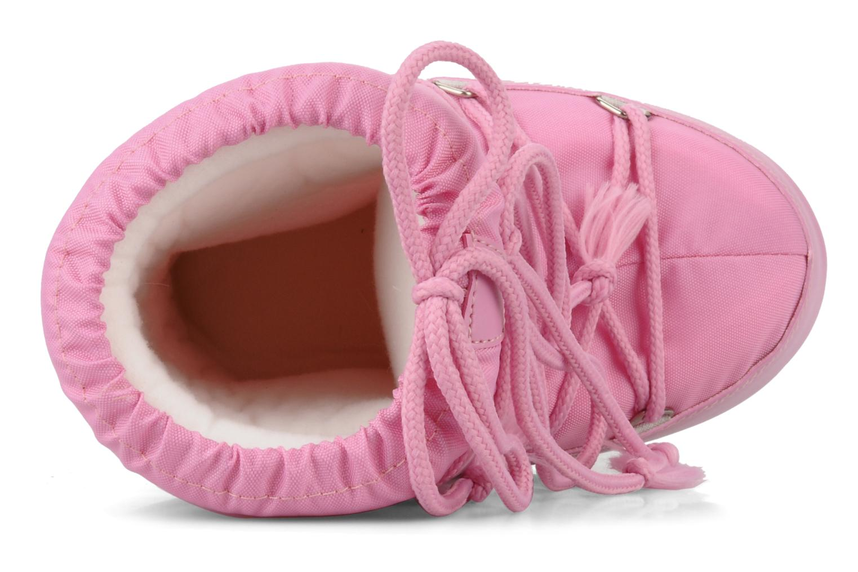 Sportschuhe Moon Boot Moon Boot Nylon E rosa ansicht von links