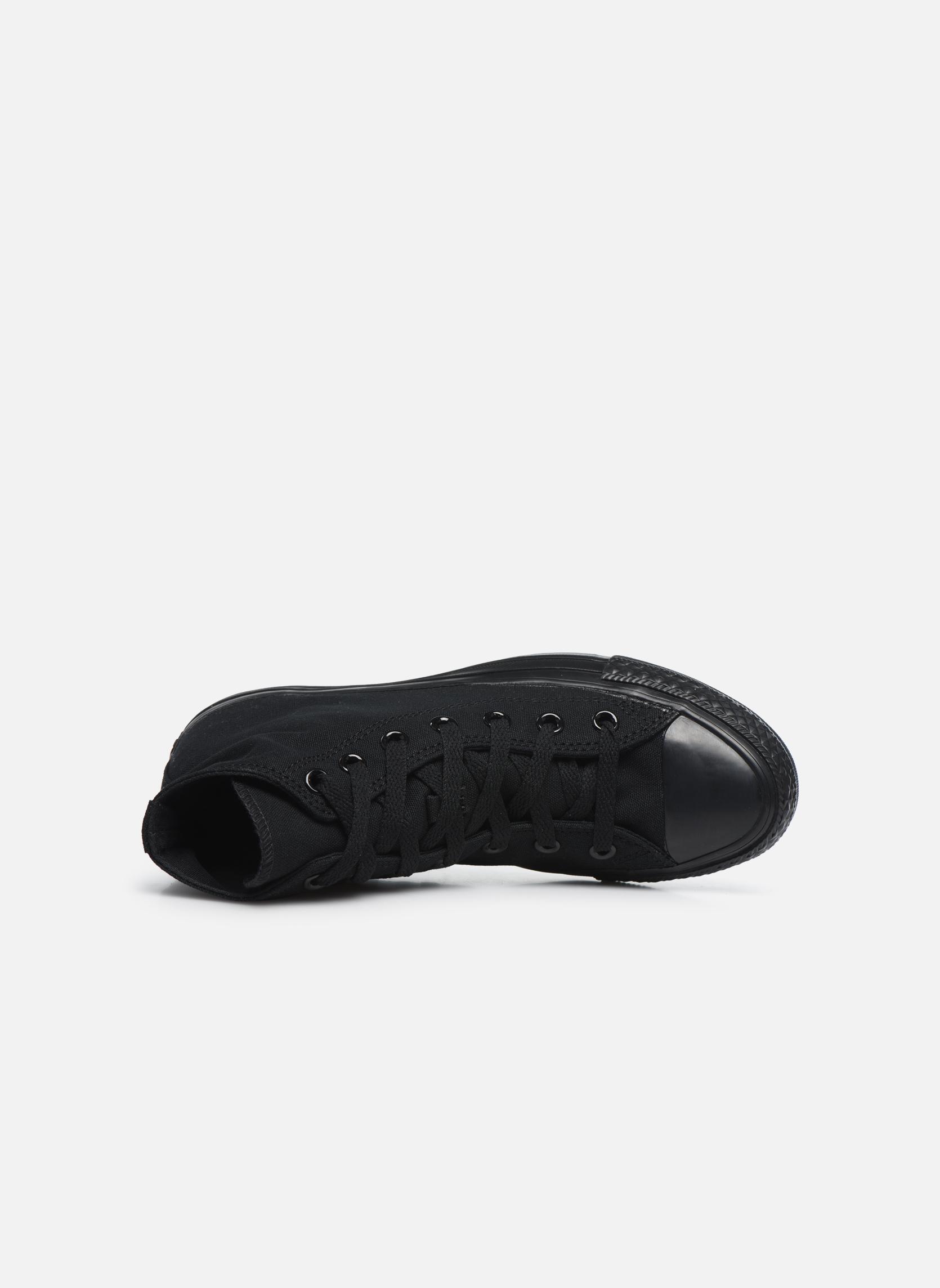 Sneakers Converse Chuck Taylor All Star Monochrome Canvas Hi W Sort se fra venstre
