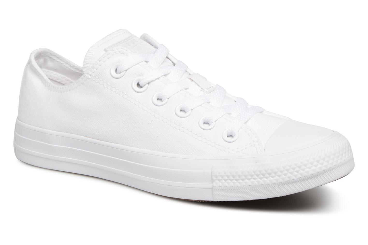 Chuck Taylor All Star Monochrome Canvas Ox W Blanc Mono
