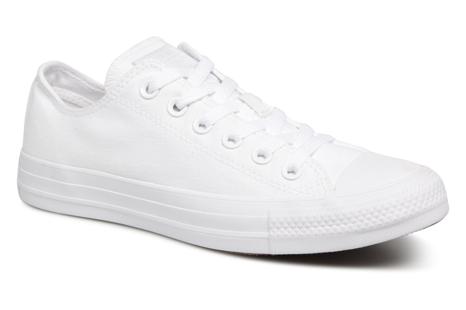 Sneakers Converse Chuck Taylor All Star Monochrome Canvas Ox W Wit detail