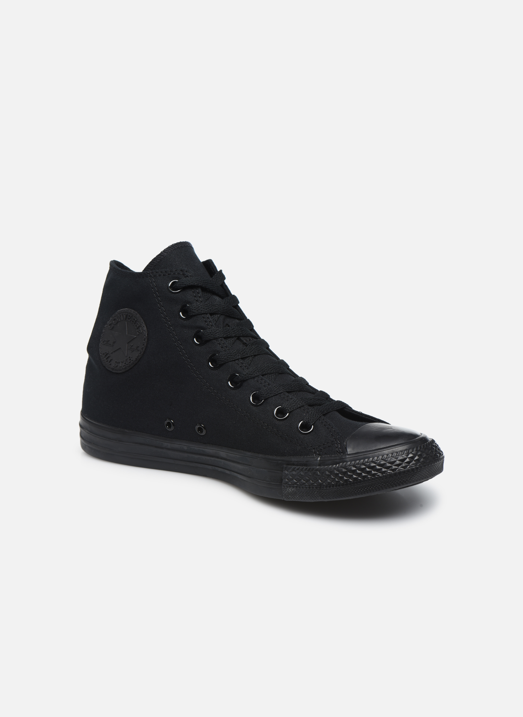 Chuck Taylor All Star Monochrome Canvas Hi M  Noir