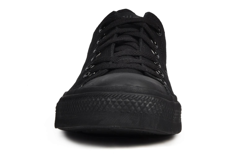 Sneaker Converse Chuck Taylor All Star Monochrome Canvas Ox M schwarz schuhe getragen