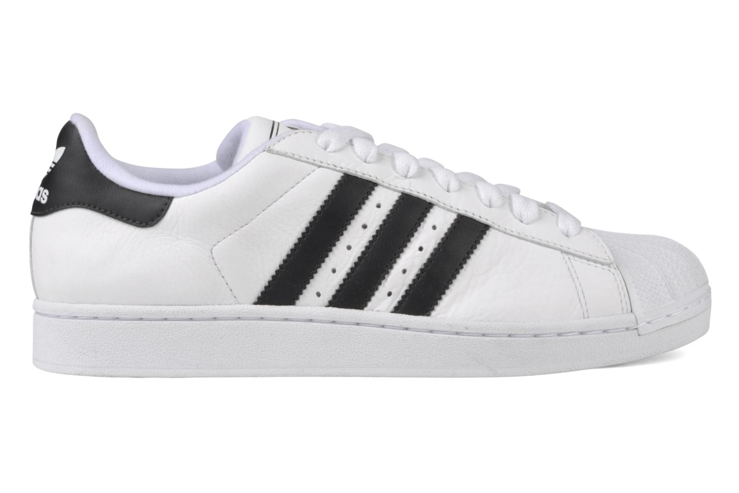 Baskets Adidas Originals Superstar II Blanc vue derrière