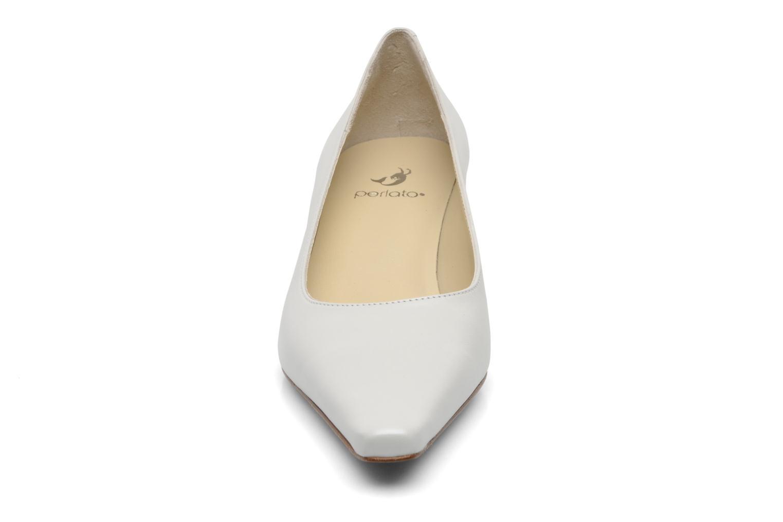 Escarpins Perlato Lailla Blanc vue portées chaussures