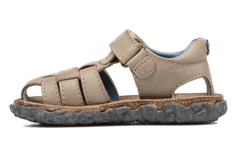 Sandales et nu-pieds Stones and Bones Raxi Gris vue face