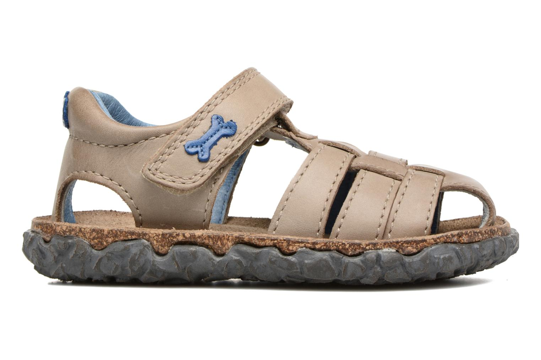 Sandals Stones and Bones Raxi Grey back view