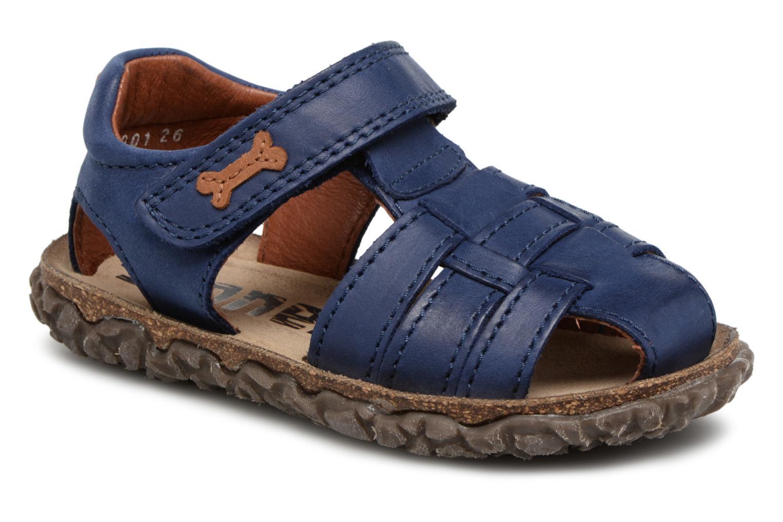Sandaler Stones and Bones Raxi Blå detaljeret billede af skoene