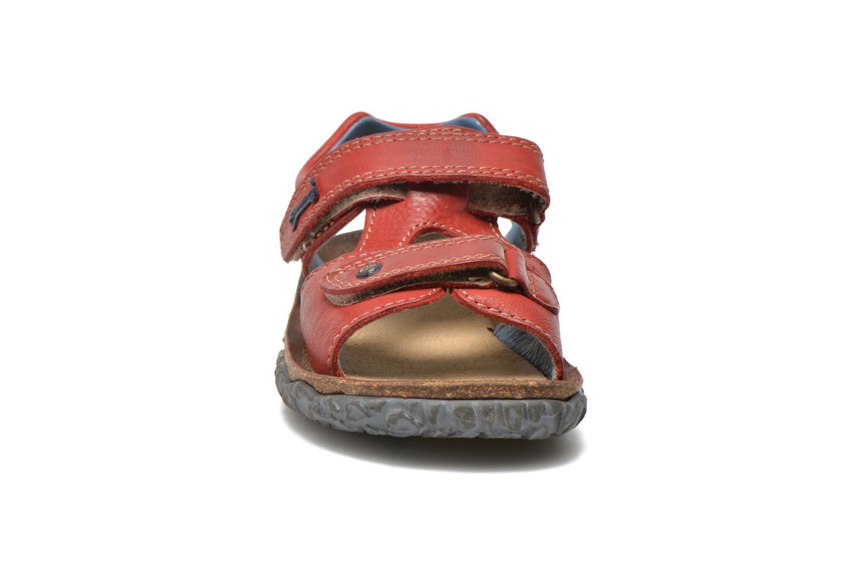 Sandals Stones and Bones Ranco Burgundy model view