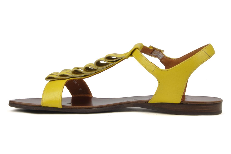 Sandales et nu-pieds Chie Mihara Marieta Jaune vue face