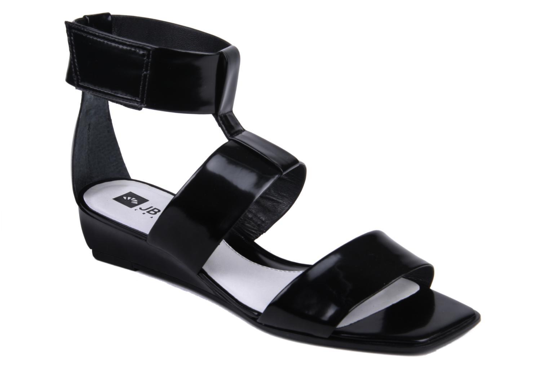 Sandales et nu-pieds JB MARTIN Indou Noir vue détail/paire