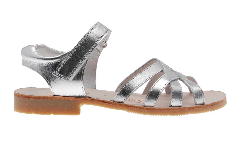 Sandales et nu-pieds Natik Natika 559 Argent vue derrière