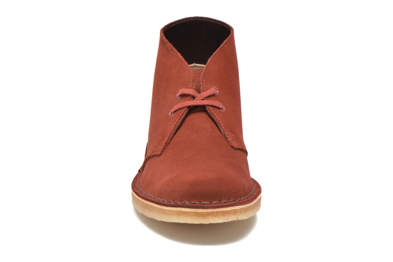 Desert Boot W Nut Brown Suede