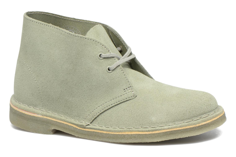 Grandes descuentos últimos Zapatos Clarks Clarks Zapatos Desert Botas W (Verde 4dd208