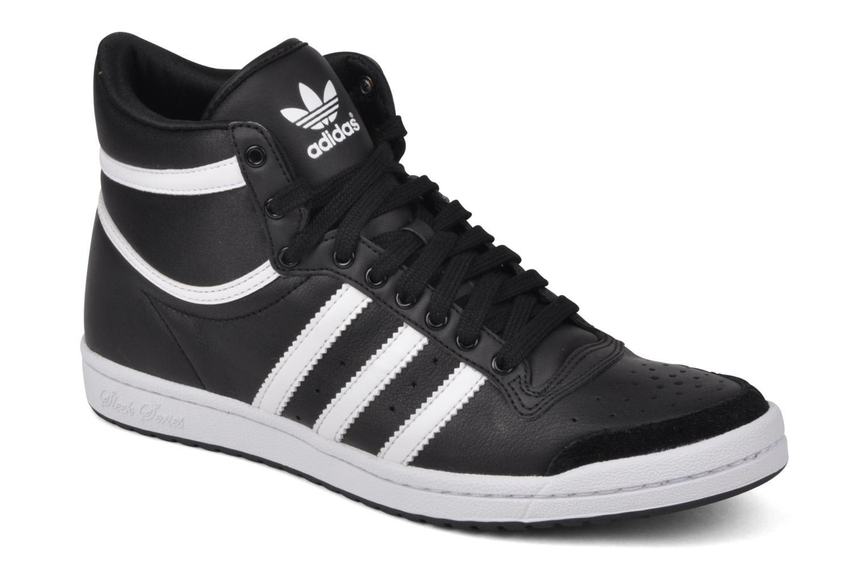 Baskets Adidas Originals Top Ten Hi Sleek Noir vue détail/paire