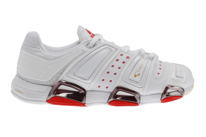 Sportschoenen Adidas Performance Stabil S W Wit achterkant