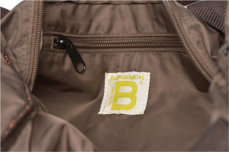 Sporttassen Bensimon Color Bag Bruin achterkant