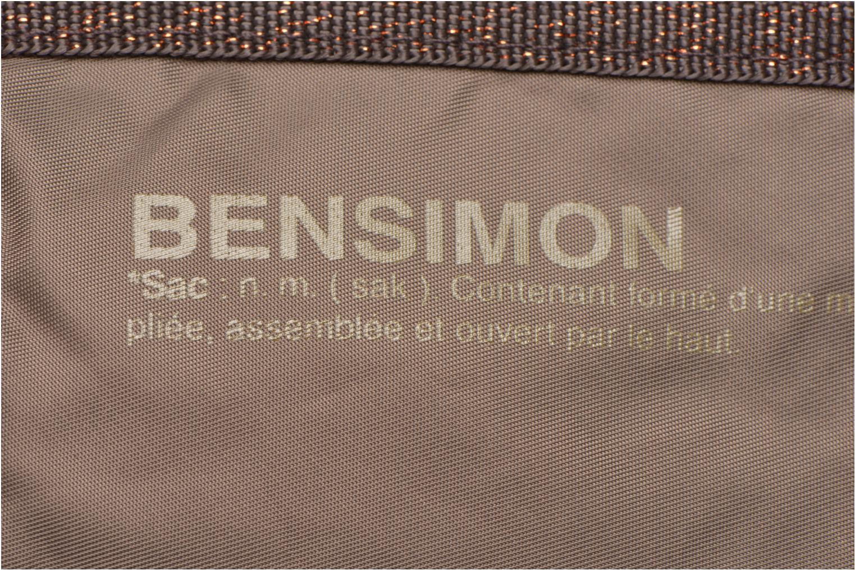 Sporttassen Bensimon Color Bag Bruin links