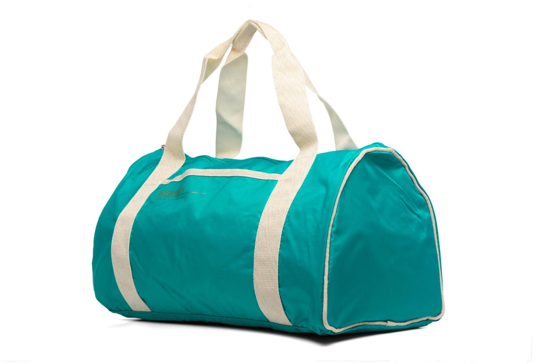 Sacs de sport Bensimon Color Bag Bleu vue portées chaussures