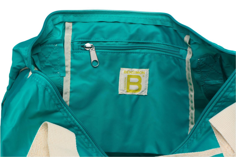 Sacs de sport Bensimon Color Bag Bleu vue derrière